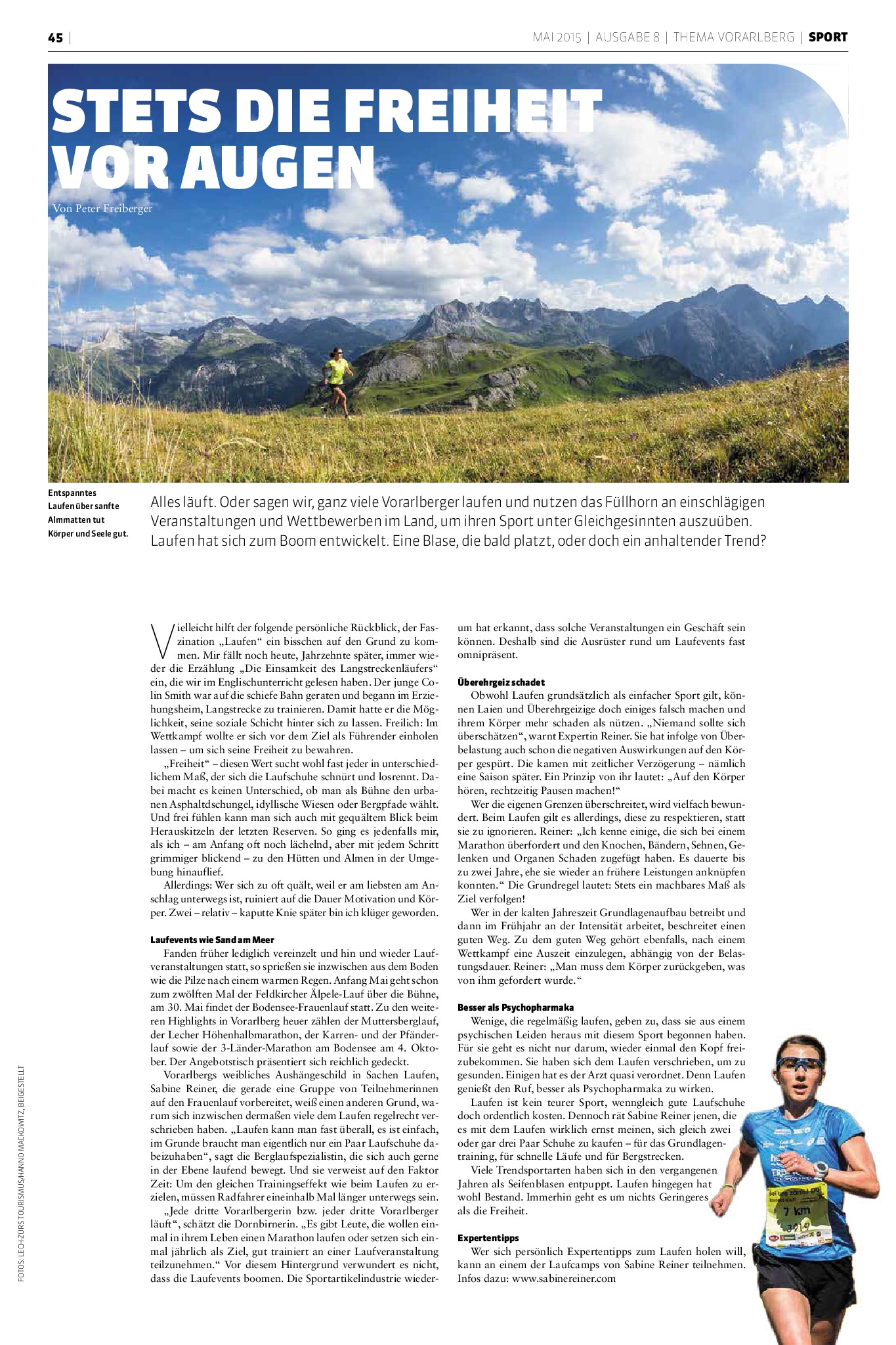 Thema Vorarlberg_Laufen_Sabine Reiner_Mai2015