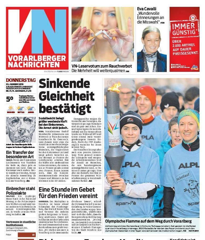 Zeitungsartikel_VN Fackellauf
